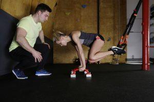 תוכנית אימונים עם גומיות התנגדות